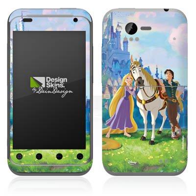 DeinDesign HTC Rhyme Case Skin Sticker aus Vinyl-Folie Aufkleber Disney Rapunzel ? Neu verföhnt Merchandise Geschenke