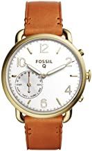 Fossil Hybrid Smart Watch - Q Tailor Brown Leather