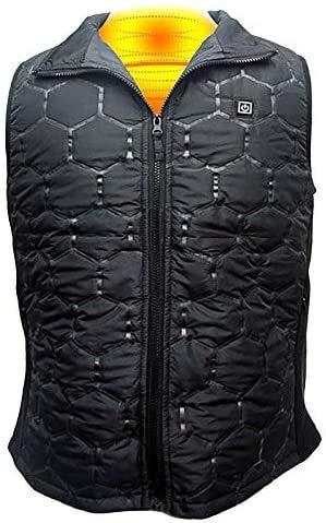 Elektrische Vest 5V USB Charging Verwarming Vest Waterdicht ThreeSpeed Thermostaat Verwarming kleding for vrouwen mannen Winter Outdoor Hiking Camping Fietsen M vest (Size : M)