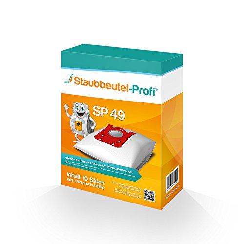 10 Staubsaugerbeutel Staubbeutel-Profi kompatibel mit Swirl PH86 geeignet für AEG Electrolux Silent performer ASP7150