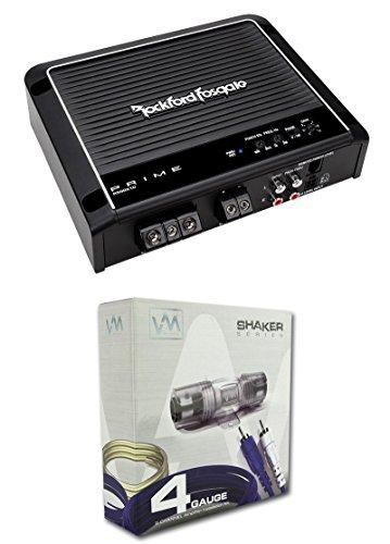 Rockford Fosgate Prime 500W RMS Mono Car Audio Class D Amplifier Remote & Kit