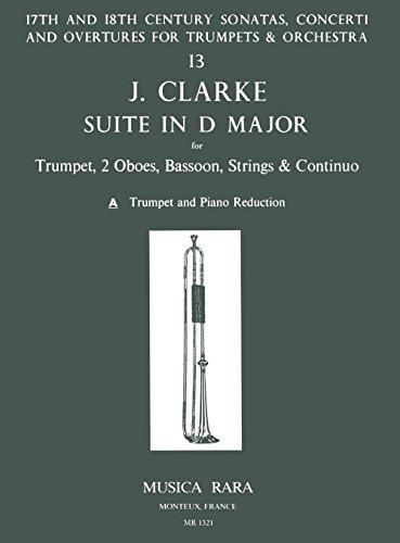 Suite in D-dur - Ausgabe für Trompete und Klavier (MR 1321)