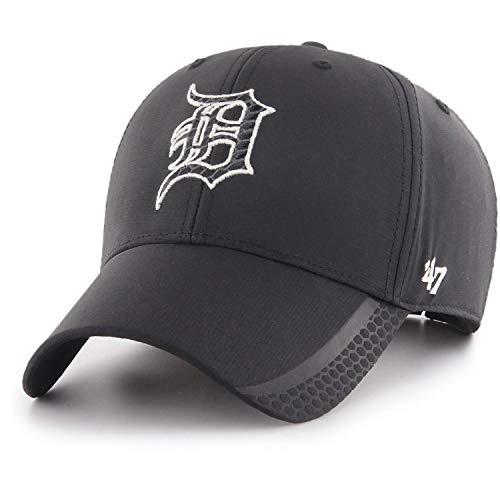 47 Brand Adjustable Cap - Osmosis Detroit Tigers schwarz