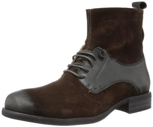 nobrand Bristow 10027, Herren Biker Boots, Braun (Brown), EU 44 (UK 9.5) (US 10)