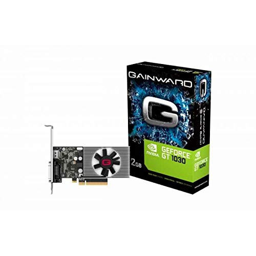 Gainward 426018336-4085 GeForce GT 1030 2GB GDDR4 Grafikkarte - Grafikkarten (GeForce GT 1030, 2 GB, GDDR4, 64 Bit, 1050 MHz, PCI Express 3.0)