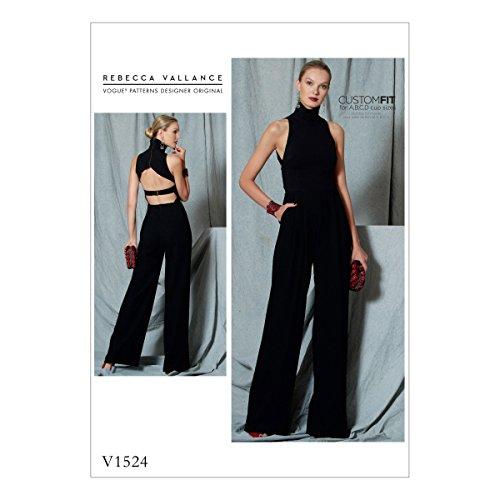 Vogue Mustern 1524A5Schnittmuster Overall Schnittmuster, mehrfarbig, Größen 6–14