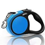 MigooPet Heavy Duty Retractable Dog Leash-16' Long Dog Walking Leash for Dogsup to 115Lbs, Non Slip Rubbery Grip, Tangle Free Pet Leash, Small/Medium, Grey