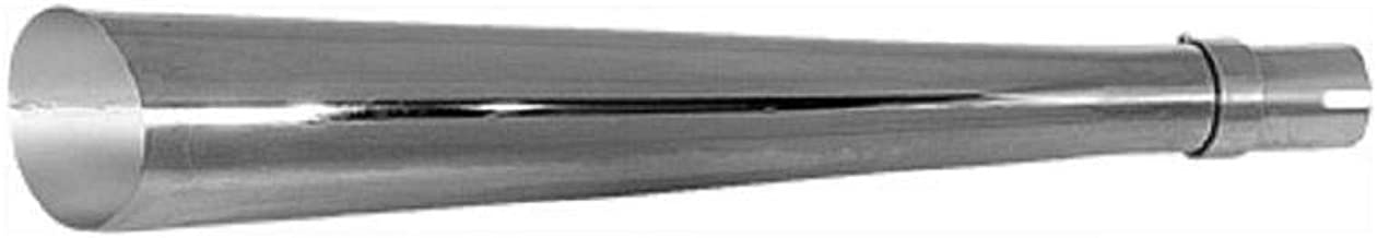 Emgo 80-84020 Universal Slash-Cut Muffler - 24in.