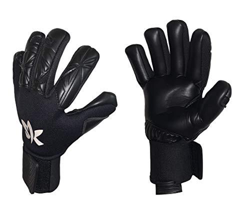 Sportswear Kingdom Special Pro Herren Torwarthandschuhe mit Fingersave (schwarz, 11)