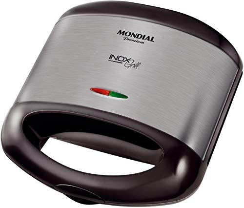 Grill e Sanduicheira Inox Premium S-07 - Mondial