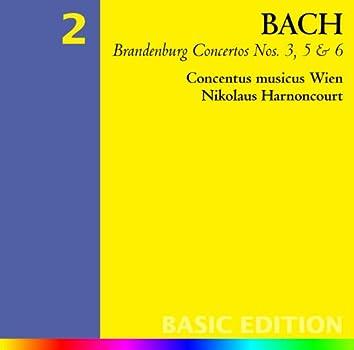 Bach, JS : Brandenburg Concertos Nos 3, 5 & 6