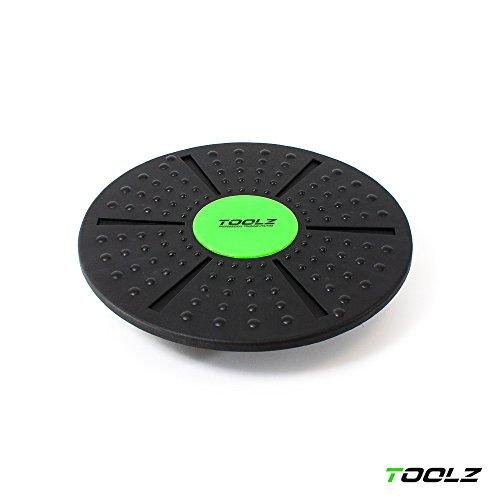 TOOLZ Balance Board/Gleichgewichtstrainer – Therapiekreisel für Gleichgewichts und Koordinationsübungen – Wackelbrett für propriozeptives Training