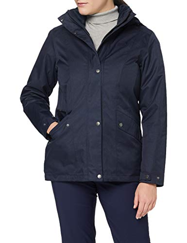 Jack Wolfskin Damen PARK AVENUE JACKET wasserdichte Winterjacke, Midnight Blue, L