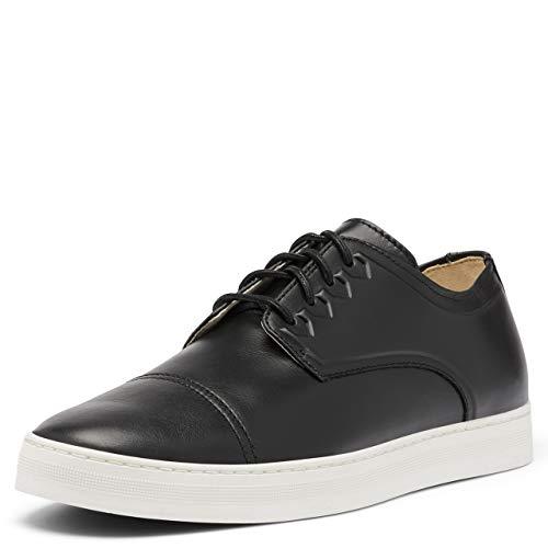 Sorel Men's Caribou Mod Cap Toe Sneaker - Waterproof - Black, Sea Salt - Size 7
