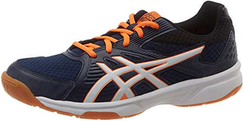 ASICS Mens Upcourt 3 Indoor Court Shoe, Peacoat/White, 42 EU