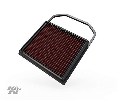 K&N KN 335032 Motorluftfilter: Hochleistung, Prämie, Abwaschbar, Ersatzfilter, Erhöhte Leistung, 2014-2019 (C400, C43, C450 AMG, E450, GLC43AMG, GLE400, GLS 400, andere ausgewählte Modelle)