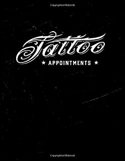 Tattooist appointment book 2020 - 2021: Tattoo artist appointment book 2020 - 2021 (Sept - Aug) Month to Month Calendar - ...