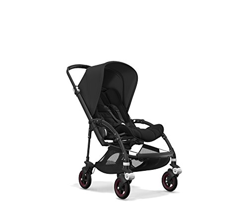 Bugaboo Bee5 Complete Stroller, Black/Black - Compact, Foldable Stroller for Travel and Urban Life. Easy to Steer on City Streets & Tight Turns! The Most Popular Lightweight Stroller!