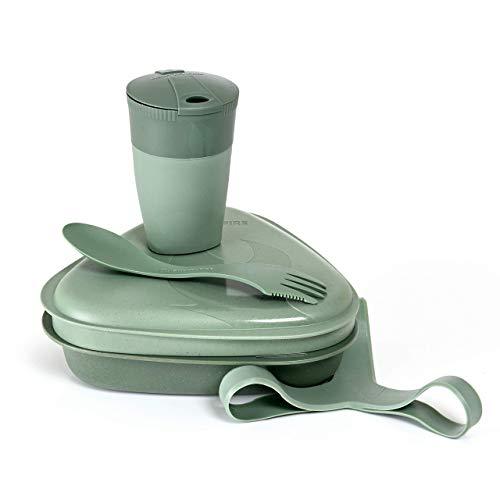 Light my Fire - Kit 5 Pcs - Vaisselle, Couverts et Boites Alimentaires réutilisables à emporter - Micro-Ondes et Lave-Vaisselle - en Plastique 100% sans BPA - Ideal Camping/Randonnées/Lunch-Box