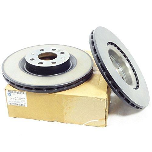 véritable pour Vauxhall Corsa D 1.3 CDTi (à partir de 2006) Disques de frein avant – 93188918