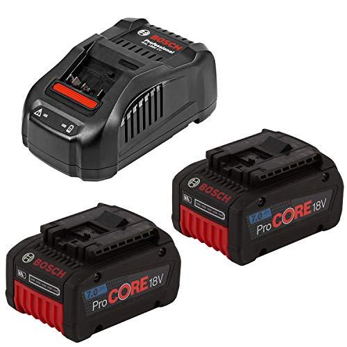 Bosch Akku-Starter-Set 1600A013H4 Clic 2 x ProCore 18,0 V 7,0 Ah + GAL 1880 CV, 18 V