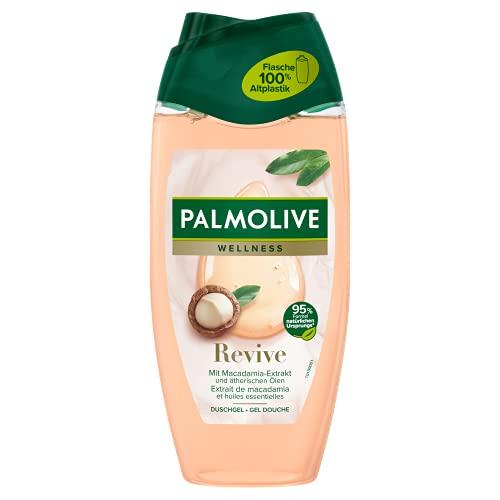 Palmolive Duschgel Wellness Revive 6 x 250ml - mit Macadamia-Öl und ätherischen Ölen