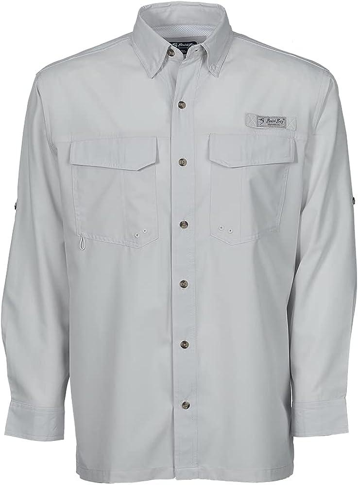 Bimini Bay OUTFITTERS Bimini Flats V Long Sleeve Shirt w/BloodGuard Plus