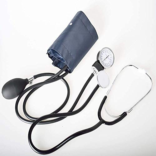Fall Stethoskop, Blutdruck-Monitor-Handbuch mit Stethoskop Arm Sphygmomanometer Zuhören fetale Herz