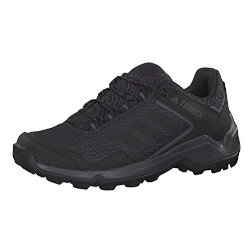 adidas Herren Terrex EASTRAIL Walkingschuhe, Schwarz Carbon/Core Black/Grey Five, 45 1/3 EU