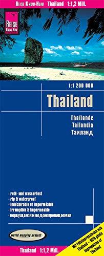 Reise Know-How Landkarte Thailand (1:1.200.000): reiß- und wasserfest (world mapping project)