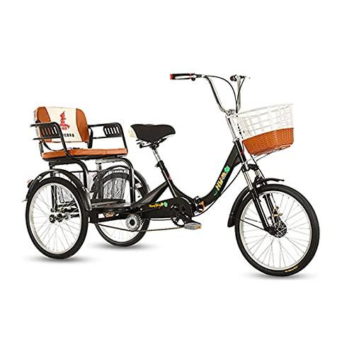 Triciclo Para Adultos, Tamaño De 1 Velocidad, Bicicleta De Crucero, 3 Ruedas,...