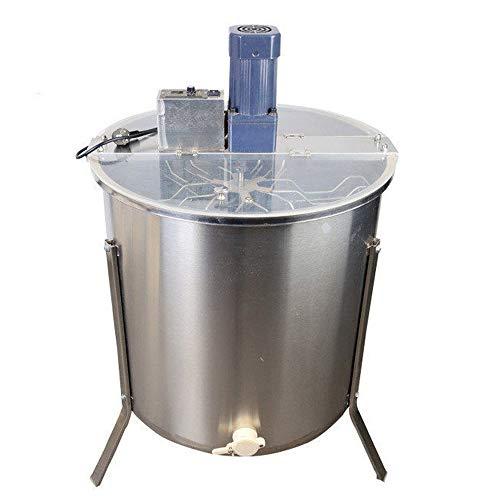 QXTT Honigschleuder Elektrisch 6 Waben Edelstahl Honig Extraktor Schleuder Tangentialschleuder Honey Extractor Imker Und Bienenzüchter Zubehör Mit Deckel