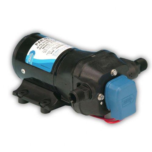 Jabsco 31600-0092 PAR-Max 3 Bomba de sistema de agua, 3.5 GPM, 20 PSI corte en línea, 12 voltios, negro