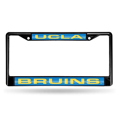 NCAA Rico Industries Laser Cut Inlaid Standard Chrome License Plate Frame, UCLA Bruins