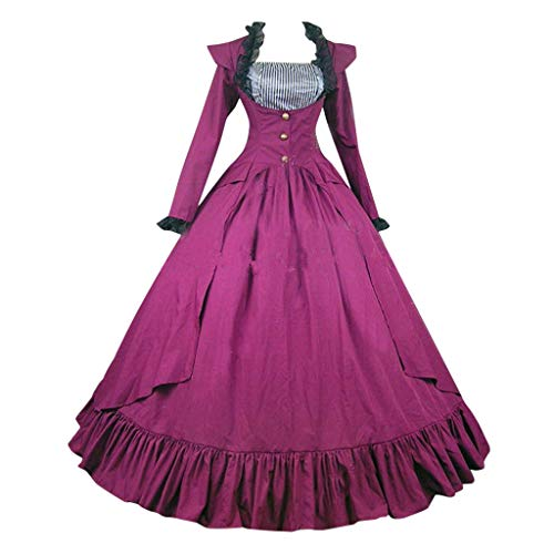 Fantastic Deal! jin&Co Ball Gowns for Women Formal Long Sleeve Renaissance Gothic Victorian Vintag...