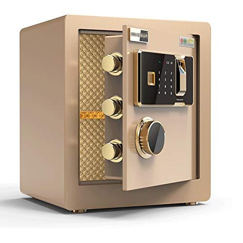 Digital Safe Con Serratura A Combinazione Codice E Chiave,36x30x40cm Impronta Digitale Biometrica...