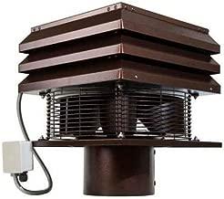 Rauchabzug 20 cm rundes Modell Gemi Elettronica Profimodell Rauchabzug f/ür Schornstein Schornstein Absauger