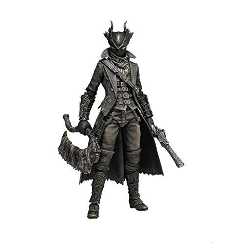 Siyushop Bloodborne: Hunter Figma Action Figure - Einschließlich Mehrerer Ausdrücke - Hohe 15 cm
