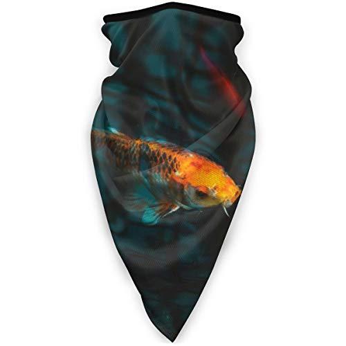 BJAMAJ Aquarium Koi Karper Onderwater Outdoor Gezicht Mond Mask Winddicht Sportmasker Ski Masker Schild Sjaal Bandana Mannen Vrouw