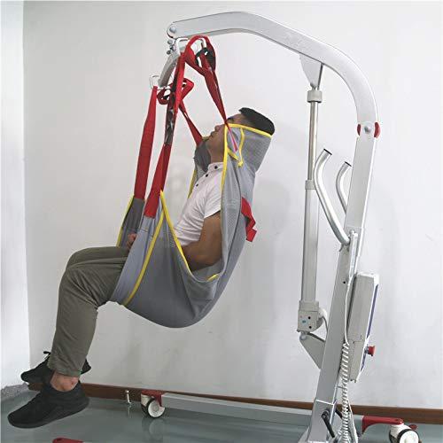 41rcm75CzmL - DZWJ Esparcidor de Honda de protección Transpirable en Forma de Red Ayuda al Paciente Bariátrica Resistente de Malla de Cuerpo Completo Eslinga de elevación del Paciente