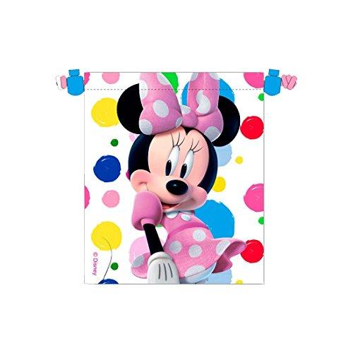 Minnie Mouse - Saquito merienda, 22 x 25 cm (Kids WD92178)