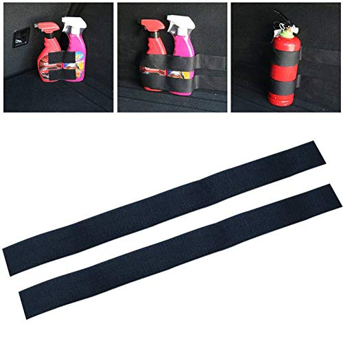 GYKYD Car Sticker Car Tail Box Fire Extinguisher Fixing Belt Storage Stick Strip Auto Products Automotive Interior Magic Strip Car Stickers