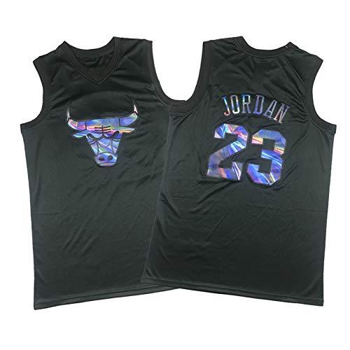WXFO Jersey de Baloncesto de los Hombres, toros Jordan 23# Malla Transpirable de la Calle de la Calle de Verano de la Moda de la Moda para Adolescentes y niños pequeños, L