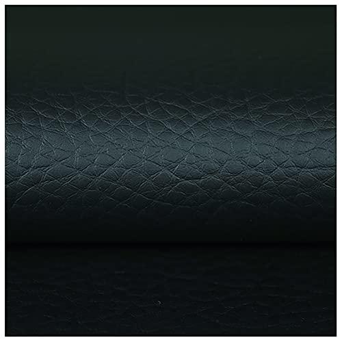 Cuero Sintético, Tela de Polipiel Tela de Imitación de Cuero Polipiel para Sillas Bolsos Kit de Parche de Piel Asiento de Coche Muebles Ancho 140cm(Size:3X1.4m,Color:3 Navy)