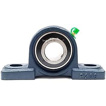 7.99 Length 4.13 Height Big Bearing UCPX07-20 Medium Duty Pillow Block Bearing Cast Iron 1-1//4 Shaft Size 7.99 Length 2.24 Width 4.13 Height 2.24 Width 1-1//4 Shaft Size