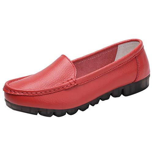 レディース フラットシューズ Hodarey レディース シングルシューズ ドライビングシューズカジュアル エンドウ豆の靴 滑り止め 柔らかい底 通気性 マザーシューズ ローファー 婦人靴 美脚 歩きやすい ファッション シューズ 女性の靴 通勤 散歩