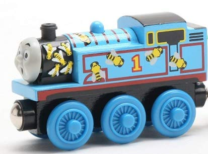 Learning Curve Bee Thomas - Thomas Wooden Railway Tank Engine Train Loose
