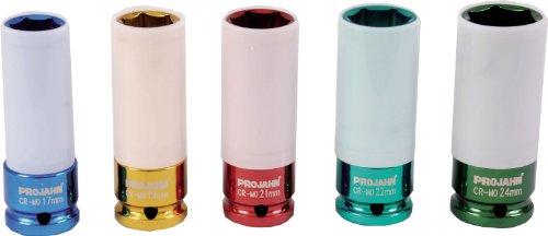Preisvergleich Produktbild Projahn 1 / 2 Zoll Tiefe Schlag Stecknuss für Alufelgen 19 mm 382019