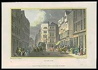 1831ロンドン - オリジナルのアンティークプリントビューALGATE(112)