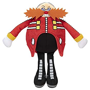 Sonic The Hedgehog Dr Eggman 7-Inch Scale Plush Collectible Stuffed Figure
